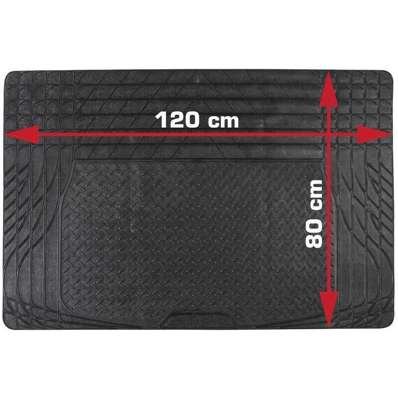 Tapis de sol caoutchouc pour automobile - 120 x 80 cm - Dino