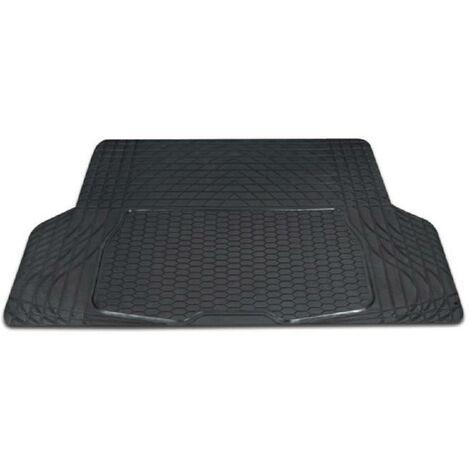 Tapis de coffre luxe - PVC - 109 x 141 cm - Gris Aucune