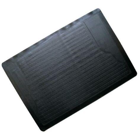 Tapis de coffre - PVC - 117 x 82 cm - Gris Aucune