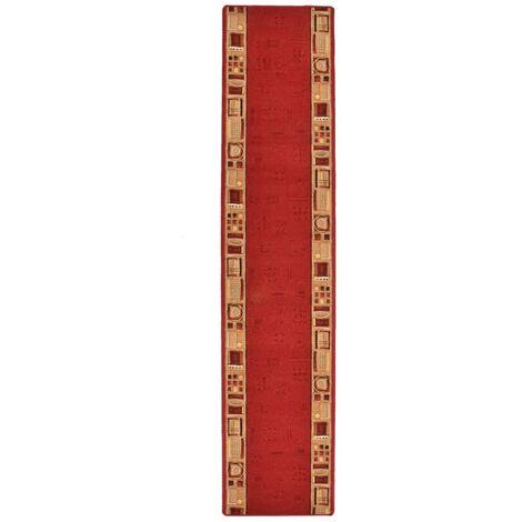 Tapis de couloir Support de gel Rouge 67x400 cm