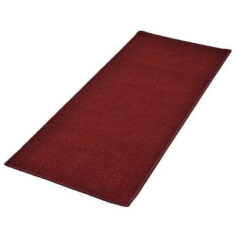 Tapis De Cuisine Antiderapant Rouge 50 X 120 Cm