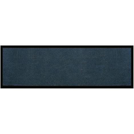 Tapis de cuisine en polyamide Uni gris - Dim : 50 x 120 cm - PEGANE -