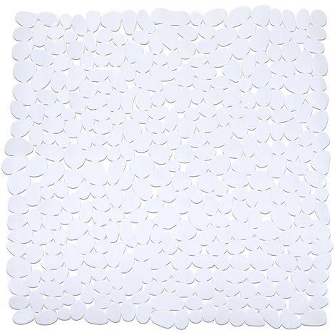 Tapis de douche Paradise - Blanc - Blanc