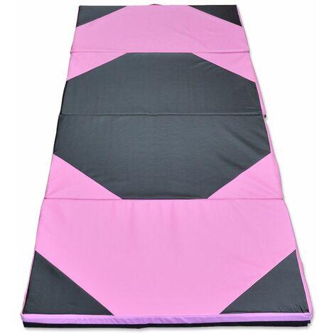 Tapis de gymnastique pliant panneau épais Gym Fitness Yoga Exercice Pad LAVENTE