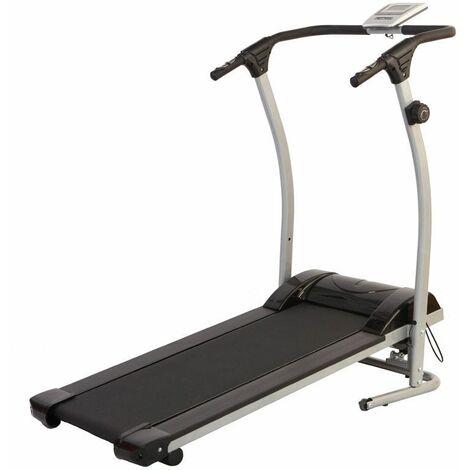 Tapis de marche magnétique O'Fitness - Compteur 5 fonctions - Idéal pour une activité physique à la maison