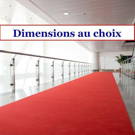 Tapis de Passage Rouge / Tapis de décoration, idéal pour Magasin, événements et fêtes, cinéma, église