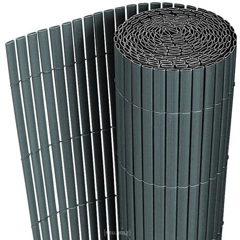 tapis de protection contre les regards en PVC (150x300cm) (diff. coloris) pare-vent, cl?ture de jardin, protection visuelle pour balcon, cl?ture