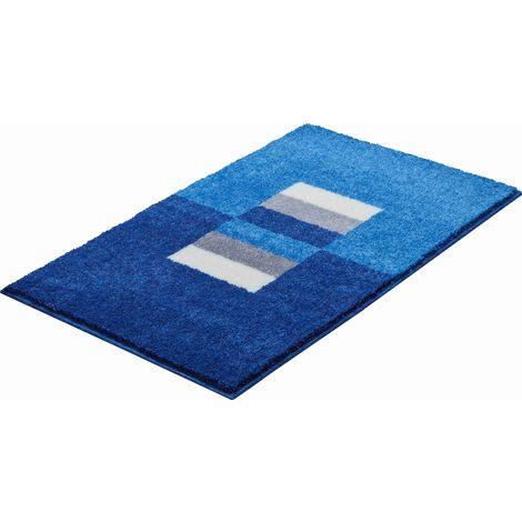 Tapis de salle de bain CAPRICIO bleu 70 x 120 cm / Couleur: Bleu /  Référence: b4109-023001133