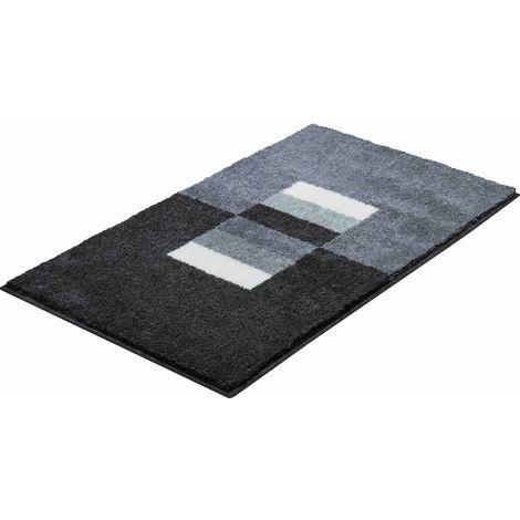 Tapis de salle de bain CAPRICIO gris 60 x 100 cm / Couleur: Gris /  Référence: b4109-016001096