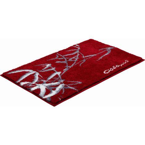 Tapis de salle de bain COLANI 23 rouge 60 x 100 cm / Couleur: Rouge /  Référence: b2611-016001007