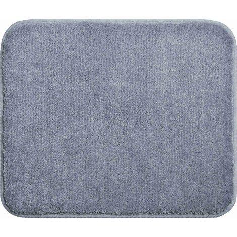 Tapis de salle de bain FANTASTIC gris 50 x 60 cm / Couleur: Gris ...