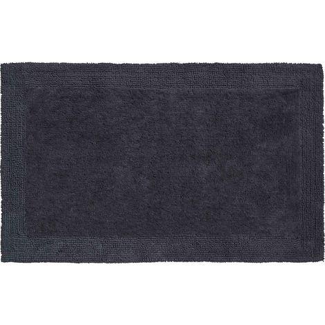Tapis de salle de bain LUXOR 70 x 120 cm anthracite / Couleur: Anthracite /  Référence: b2625-023207068