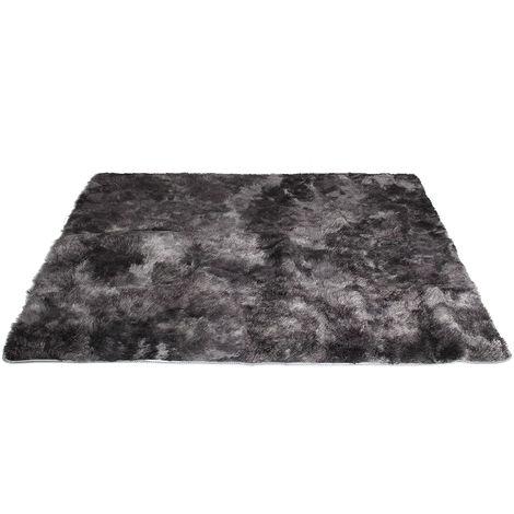 Tapis de Salon 160x200cm Noir