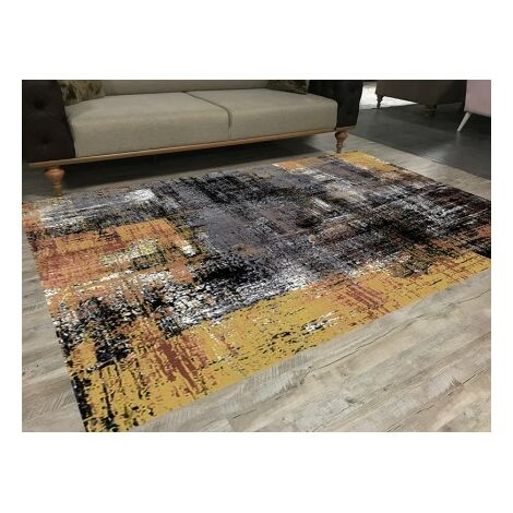 Tapis de salon ART Noir