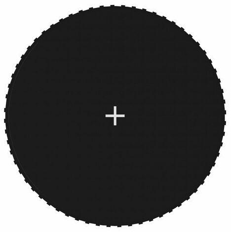 Tapis de saut Tissu Noir pour trampoline rond de 3,66 m