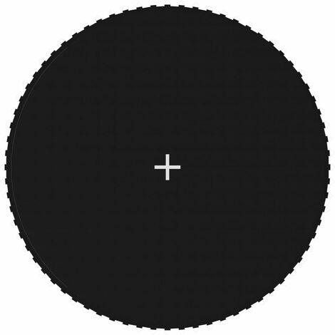 Tapis de saut Tissu Noir pour trampoline rond de 3,96 m