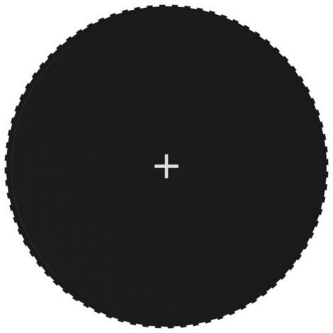 Tapis de saut Tissu Noir pour trampoline rond de 4,27 m