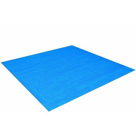 Tapis de sol 335 x 335 cm pour piscine hors sol Bestway