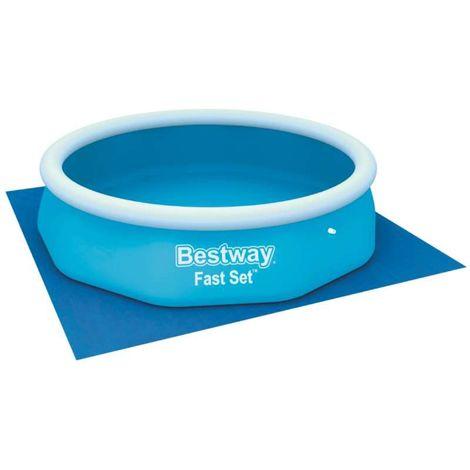 Tapis de sol Bestway pour piscine hors sol 3,05x3,05m