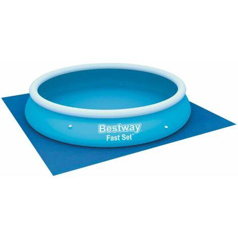 Tapis de sol Bestway pour piscine hors sol 3,66x3,66m