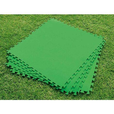 Tapis de sol Bestway puzzle 78x78 cm piscines hors-sol épaisseur 4mm