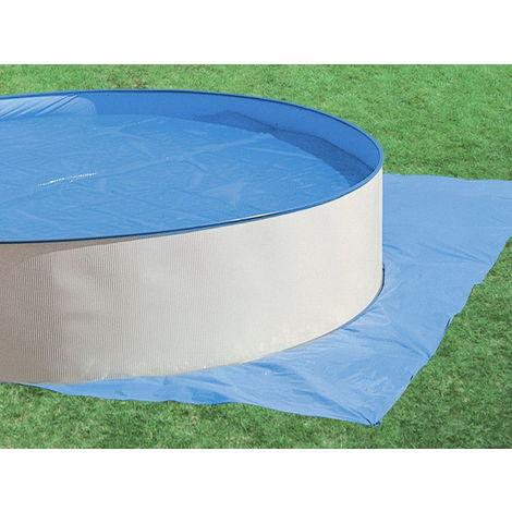 """main image of """"Tapis de sol bleu Toi SWIMLUX piscine hors-sol ronde Ø 5.5m"""""""