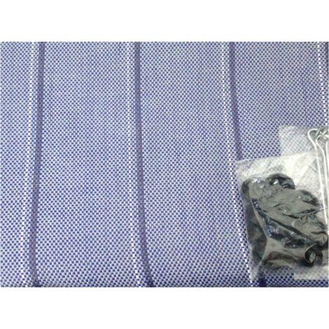Tapis de sol pour caravane et camping-car 250 x 450 cm Arisol couleur gris