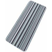 Tapis de sol gris 50 x 160 cm