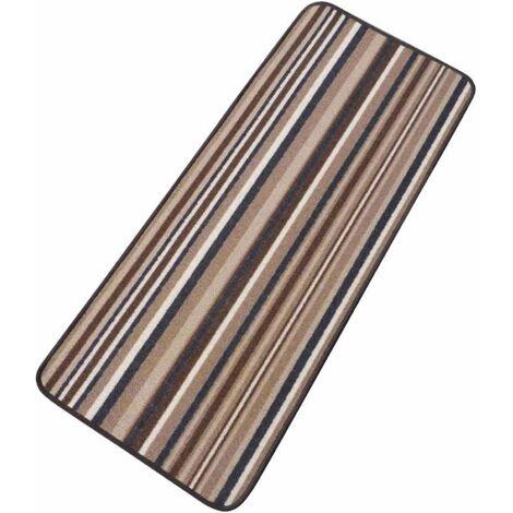 Tapis de sol marron 50 x 120 cm