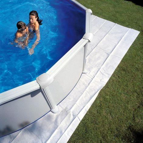 Tapis de sol Ovales Gre Choisissez la taille de votre piscine:610x375 cm MPROV610