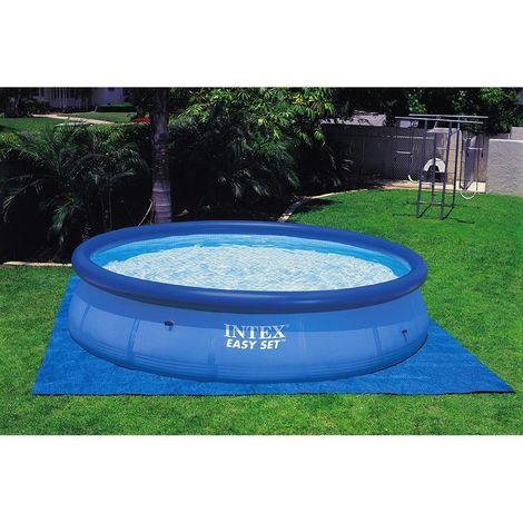 Tapis de sol pour piscine - Bleu