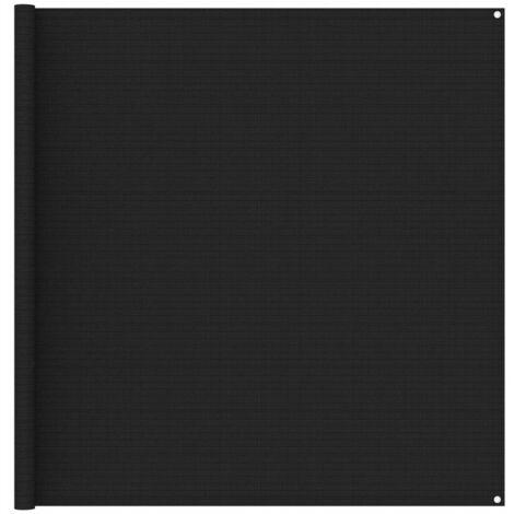 Tapis de tente 200x200 cm Noir