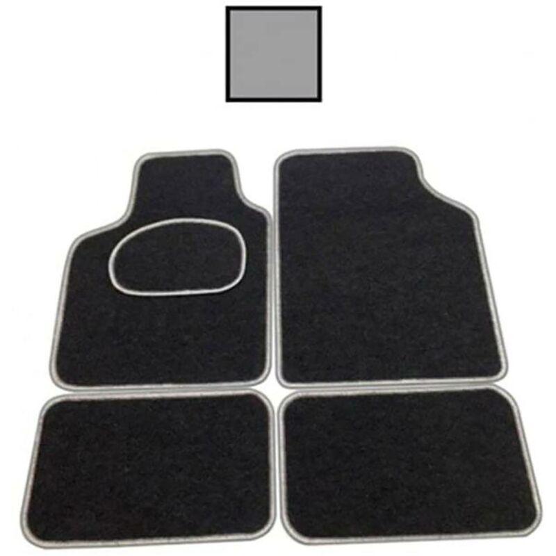 Tapis de voiture universel noir souple Bottari 4 Pz 14080