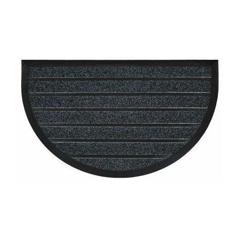 Tapis demi-lune - L 75 x H 45 cm - Marco Gris - Livraison gratuite