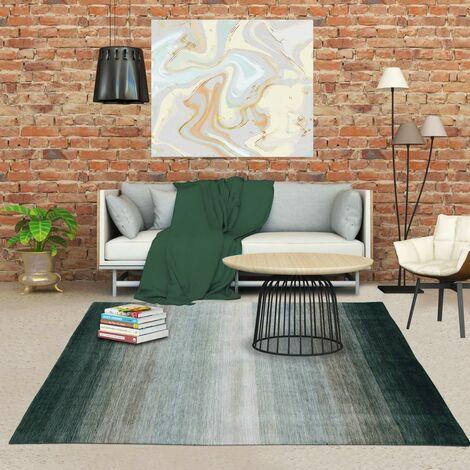 Tapis design et moderne 200x300 cm Rectangulaire MOMSY Gris Grand salon Tissé à la main