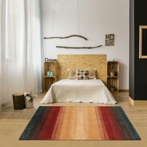 Tapis design et moderne 200x300 cm Rectangulaire MOMSY Orange Grand salon Tissé à la main