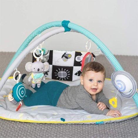 Tapis d'eveil bébé 4 en 1 Multicolore