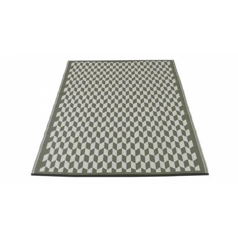 Tapis d\'extérieur Corfou - En polypropylene recyclé - 120 x 180 cm ...