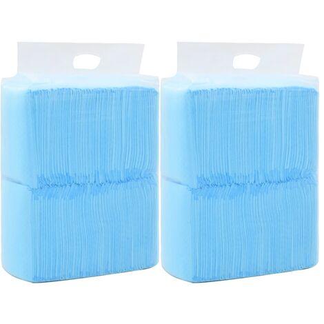 Tapis d'hygiène pour chiens 200 pcs 60 x 45 cm Tissu non tissé