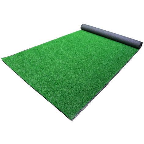 Tapis d'intérieur / extérieur réaliste synthétique synthétique d'herbe de 15mm 50 * 200cm 50 * 100cm