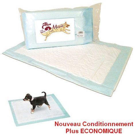 Tapis éducateur - Alèses pour chiots et chatons Désignation : Tapis éducateur 60 x 40 cm   Conditionnement : 60 pièces MORIN 345080