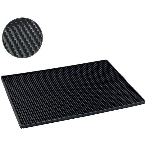 Tapis égouttoir Maxi 40x30 cm noir