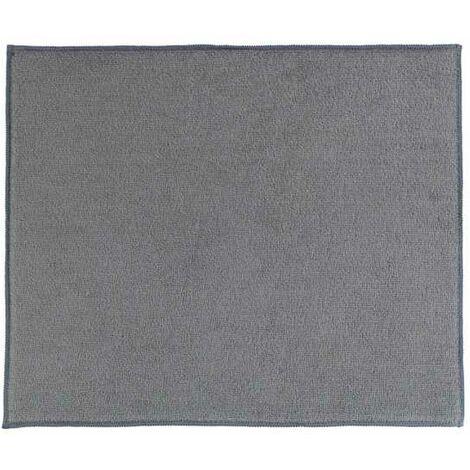 Tapis égouttoir vaisselle microfibre, Miko, gris