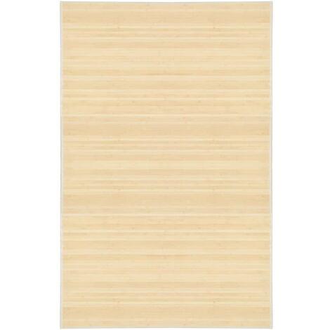 """main image of """"Tapis en bambou 100 x 160 cm Naturel"""""""