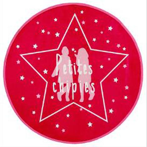Tapis en microfibre girls - Dim : D 70 cm