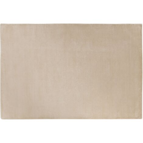 Tapis en viscose beige 160 x 230 cm GESI II