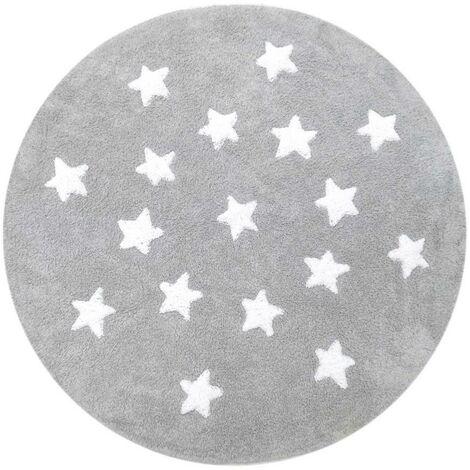 Tapis enfant ETOILE Coton de Unamourdetapis