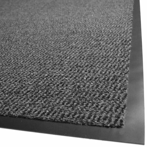 """main image of """"Tapis entrée accueil anti-salissures - Anthracite"""""""