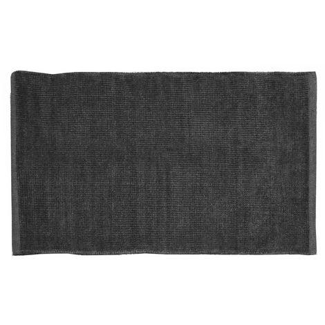 Tapis éponge coloré Noir - Noir