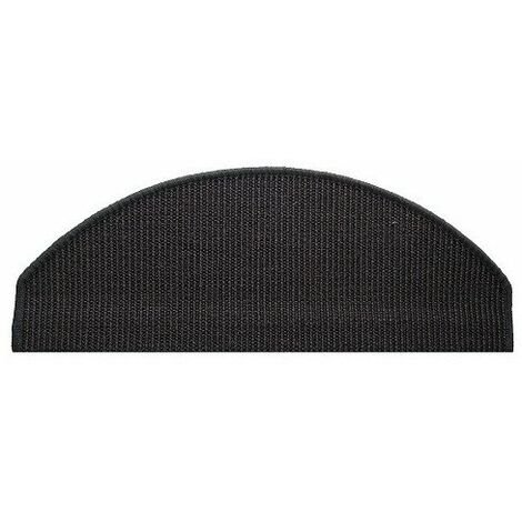 Tapis Escalier Sisal Black 44 - VICA